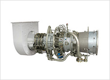 Small size gas turbine generator/compressor package